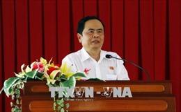 Chủ tịch Ủy ban Trung ương Mặt trận Tổ quốc Việt Nam chúc mừng Đại lễ Phật đản tại Đồng Nai
