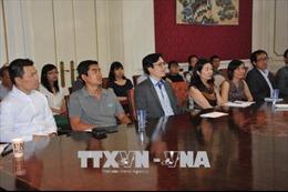 Giao lưu trí thức Việt kiều Pháp - Bỉ tại Brussels