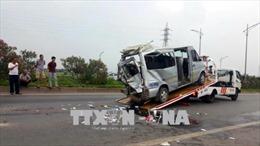 Tai nạn nghiêm trọng trên cao tốc Hà Nội - Bắc Giang: 2 người tử vong và 10 người bị thương