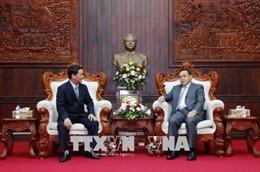 Hai cơ quan Mặt trận Việt Nam và Lào thắt chặt tình đoàn kết, hợp tác toàn diện