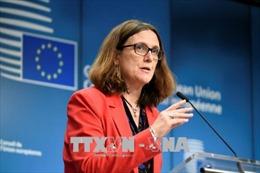 Quan chức EU: Mỹ sẽ không từ bỏ việc áp thuế đối với thép nhập khẩu