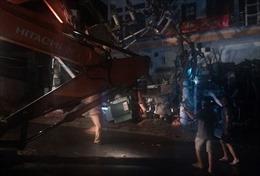 Xe trộn bê tông gây tai nạn làm 2 người chết, gây mất điện toàn đảo Cát Bà