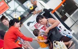 Từ 1/6, Jetstar Pacific sẽ có quầy làm thủ tục riêng cho gia đình có trẻ nhỏ và người già