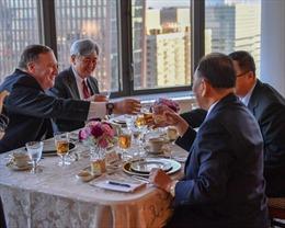 Ngoại trưởng Mỹ đãi Phó Chủ tịch Đảng Lao động Triều Tiên bò bít tết, khẳng định cuộc gặp 'tốt đẹp'