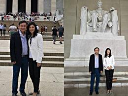 Anh em cựu Thủ tướng Thái Lan Thaksin bất ngờ xuất hiện tại Mỹ