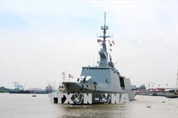 Tàu hộ tống phòng không của Hải quân Pháp thăm hữu nghị TP Hồ Chí Minh