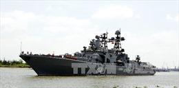 Tàu cứu hộ Hải quân Liên bang Nga thăm Cảng quốc tế Cam Ranh
