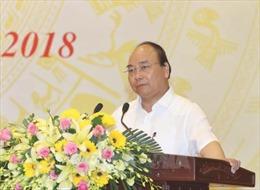 Thủ tướng Nguyễn Xuân Phúc chủ trì cuộc họp về tình hình an ninh trật tự