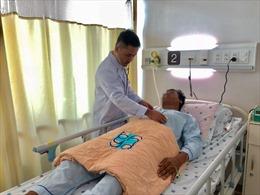Cứu sống bệnh nhân bị vỡ động mạch chủ do tai nạn giao thông