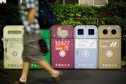 Tái chế rác thải nhựa hiệu quả theo phong cách Nhật