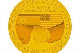 Singapore ra mắt bộ huy chương đặc biệt đánh dấu cuộc gặp Mỹ-Triều