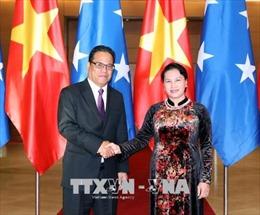 Dấu ấn quan trọng tăng cường quan hệ hữu nghị Việt Nam - Micronesia