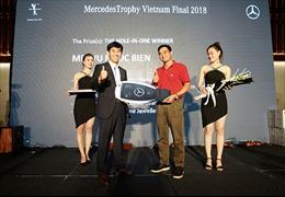 Hơn 200 gôn thủ tham dự Chung kết MercedesTrophy Việt Nam 2018