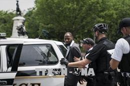 Mật vụ Mỹ bắt giữ đối tượng bị truy nã khi đang tìm cách vào Nhà Trắng