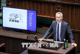 Căng thẳng EU-Mỹ phủ bóng cuộc họp quốc phòng NATO