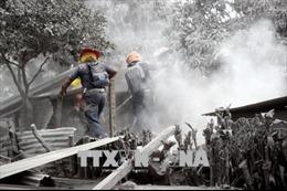 Vụ núi lửa phun trào ở Guatemala: Ít nhất 99 người chết