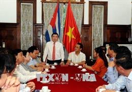 Cuba đánh giá cao kinh nghiệm phát triển của TP Hồ Chí Minh