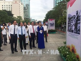 'Thành phố Hồ Chí Minh tích cực thực hiện Lời kêu gọi thi đua ái quốc của Bác Hồ'