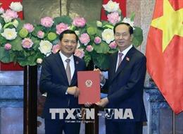 Chủ tịch nước Trần Đại Quang bổ nhiệm Phó Chánh án TAND tối cao Nguyễn Văn Du
