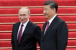 Những hình ảnh đầu tiên về lễ đón Tổng thống Putin tại Trung Quốc