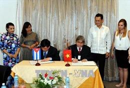 Việt Nam và Cuba tăng cường hợp tác trong lĩnh vực phát thanh
