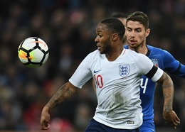 WORLD CUP 2018: Raheem Sterling với sứ mệnh 'số 10' của tuyển Anh