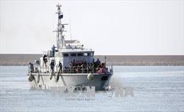 Libya cứu 152 người vượt biển trái phép trên 2 thuyền cũ nát