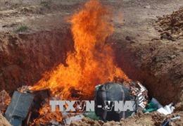 Tây Ninh tiêu hủy trên 600.000 bao thuốc lá điếu nhập lậu