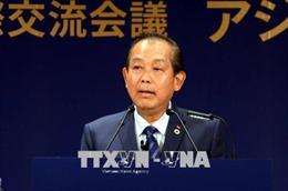 Phó Thủ tướng Trương Hòa Bình thăm Nhật Bản và dự Hội nghị Tương lai châu Á