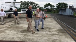 Mỹ dẫn độ cựu Tổng thống Panama Ricardo Martinelli về nước
