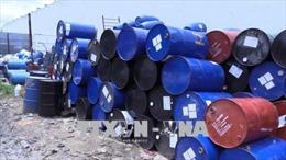 Củng cố hồ sơ xử lý vụ tập kết lượng lớn chất thải nguy hại ở Bình Dương