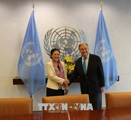 Tổng Thư ký Guterres đánh giá cao quan hệ hợp tác giữa Việt Nam và LHQ