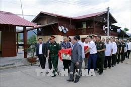 Lễ hồi hương hài cốt quân tình nguyện và chuyên gia Việt Nam hy sinh tại Lào
