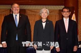 Mỹ-Nhật-Hàn cân nhắc một loạt động thái sau Hội nghị Thượng đỉnh Mỹ-Triều