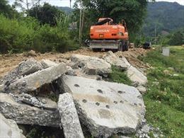 Yên Bái xử lý thi công đường giao thông nông thôn không đúng thiết kế