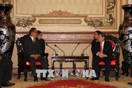 Phát triển quan hệ hữu nghị, hợp tác nhiều mặt với Micronesia