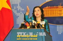Kiên quyết phản đối và yêu cầu Đài Loan không diễn tập bắn đạn thật ở đảo Ba Bình, thuộc quần đảo Trường Sa của Việt Nam