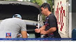 Giả tài xế Grab, buôn lậu 7000 bao thuốc lá từ biên giới về thành phố tiêu thụ