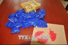 Bắt trùm ma túy cùng 42.000 viên hồng phiến