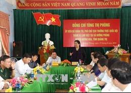 Phó Chủ tịch Quốc hội Tòng Thị Phóng thăm và làm việc tại Quảng Trị