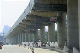 Tuyến metro Nhổn - ga Hà Nội thi công đạt 43%