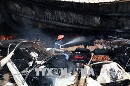 Công ty TNHH Jakjin Việt Nam vẫn trả lương trong thời gian khắc phục hậu quả vụ cháy