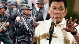 Tổng thống Philippines không muốn tuyên chiến với Trung Quốc vì tranh chấp Biển Đông