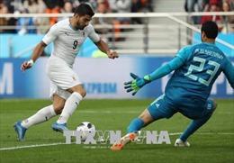 """""""Sát thủ"""" Luis Suarez muốn ghi dấu ấn trong lần thứ 100 khoác áo tuyển Uruguay"""