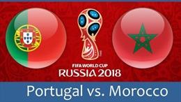 Link xem trực tiếp Bồ Đào Nha - Morocco (19h00,20/6)