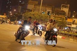 Khởi tố nhóm đua xe máy gây náo loạn Hà Nội mùa World Cup