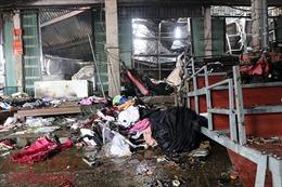 Tiểu thương chợ Sóc Sơn (Hà Nội) bức xúc vì thiết bị PCCC kém hiệu quả