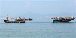 Cứu hộ tàu câu mực gặp nạn ở vùng biển Trường Sa