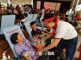 Tiếp nhận gần 1.500 đơn vị máu tại TP Hồ Chí Minh