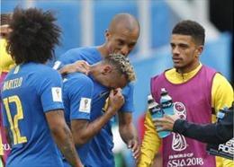 WORLD CUP 2018: Neymar bị chỉ trích 'mong manh' vì 'khóc nhè' trên sân cỏ